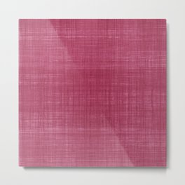 Tissu d'écorce Rose Metal Print
