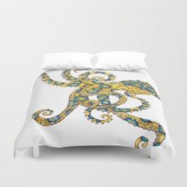 Blue Ringed Octopus dance Duvet Cover