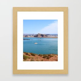 Lake Powell Impression Framed Art Print