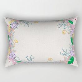 Spring Wreath Rectangular Pillow
