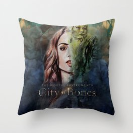 Shadowhunter Throw Pillow