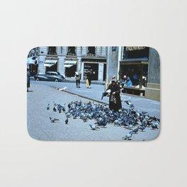 Days Long Past: Pigeon Lady Bath Mat