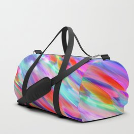 Colorful digital art splashing G399 Duffle Bag