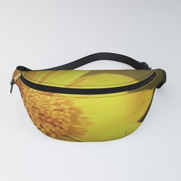 Warm Yellow Flower by Reay of Light Fanny Pack