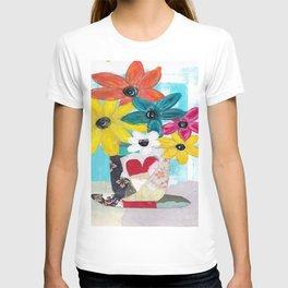 PATCHWORK VASE T-shirt