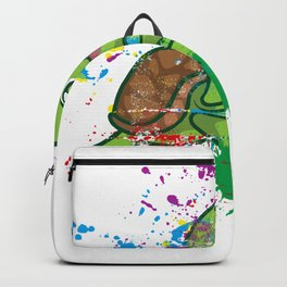 Colored Turtle Backpack
