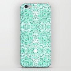 Moorish -Aqua iPhone & iPod Skin