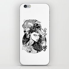 Be one with the wild iPhone & iPod Skin