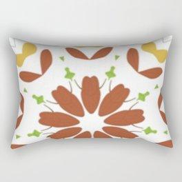 Blooming Autumn Kaleidoscope Rectangular Pillow