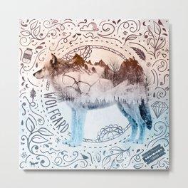 Wolfgard (Terra Indigene) Metal Print