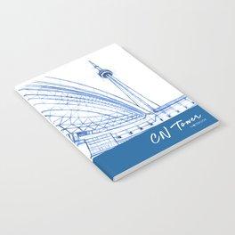 BluePrints | CNTower - Toronto Notebook