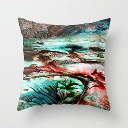 Tornado Throw Pillow