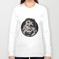 chewbacca Long Sleeve T-shirts featuring Chewbacca by LaurenNoakes
