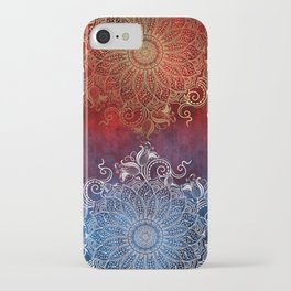 Mandala - Fire & Ice iPhone Case