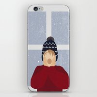 home alone iPhone & iPod Skins featuring Home Alone by Robert Scheribel