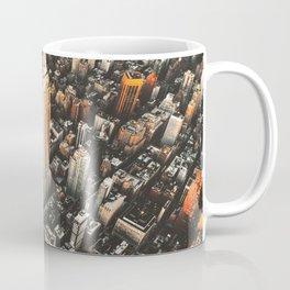 new york city aerial view Coffee Mug