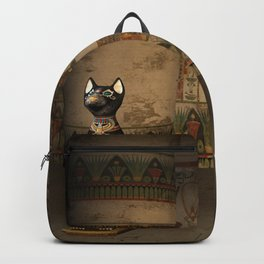 Egypt temple Backpack