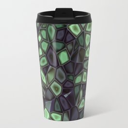 Fractal Gems 04 - Emerald Dreams Travel Mug