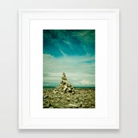 meditation Framed Art Prints featuring Meditation by Olivia Joy StClaire