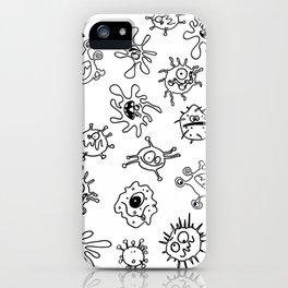 Tiny Viruses iPhone Case