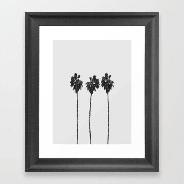 Palm Trees Gerahmter Kunstdruck