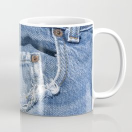 Old Jeans Coffee Mug