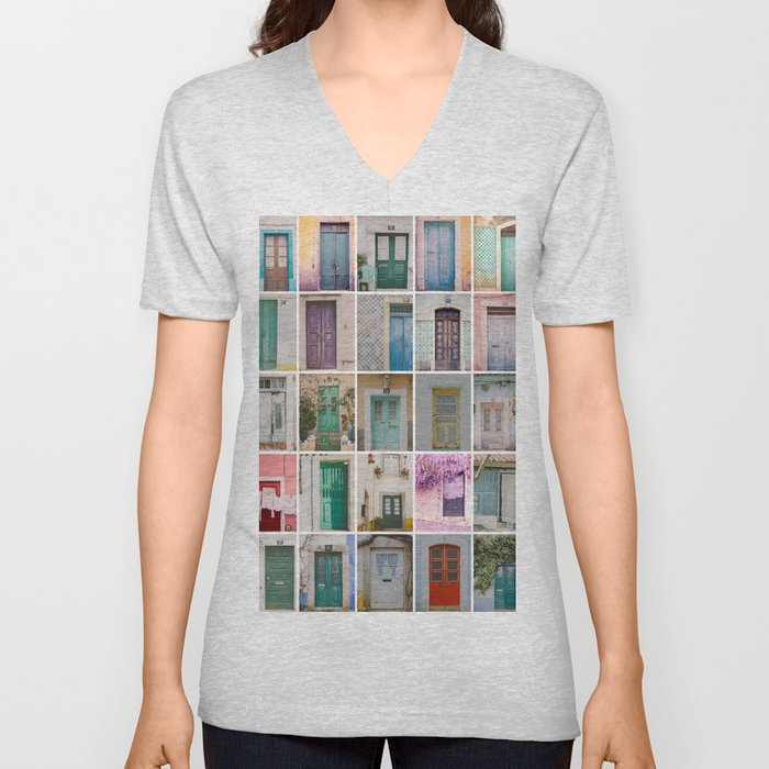 Travel Door Collection Unisex V-Neck