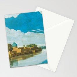 Abdul Qadir al-Rassam - River Scene on the Banks of the Tigris (1920) Stationery Cards