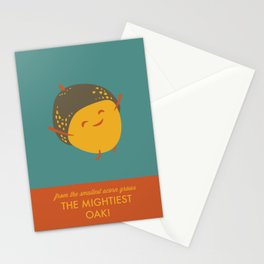 Mighty Oak Stationery Cards