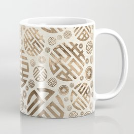 Double Happiness and Chinese coins pattern #2 Coffee Mug