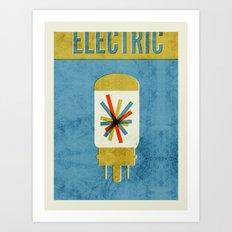 Electric Co. Art Print