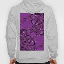 Shiny Purple Daisy Chain Hoody