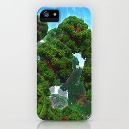 Bacterium Hedgerow iPhone Case