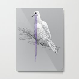 When Doves Cry Metal Print