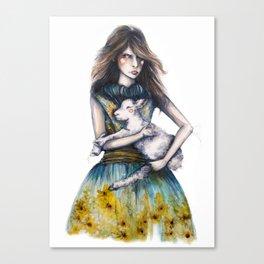Rodarte for Vanity Fair // Fashion Illustration Canvas Print