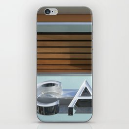 THE CAFE iPhone Skin