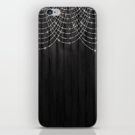 Fairy Lights on Wood 03 iPhone Skin