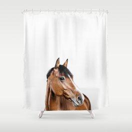 I <3 my horse Shower Curtain