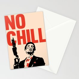 NO CHILL Vintage Pop Culture Stationery Cards