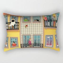 Porto Houses - Portugal Rectangular Pillow