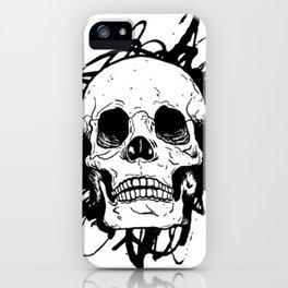 Skull, death iPhone Case
