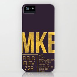MKE iPhone Case