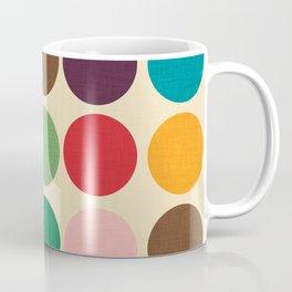 Mod Polka dots #homedecor #midcenturydecor Coffee Mug