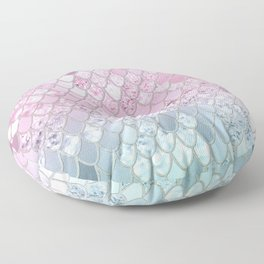 Mermaid Glitter Scales #2 #shiny #decor #art #society6 Floor Pillow