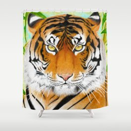 Wild Life - Tiger Shower Curtain