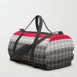 Abstract geometric pattern Duffle Bag