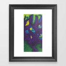 Monsters On My Mind Framed Art Print
