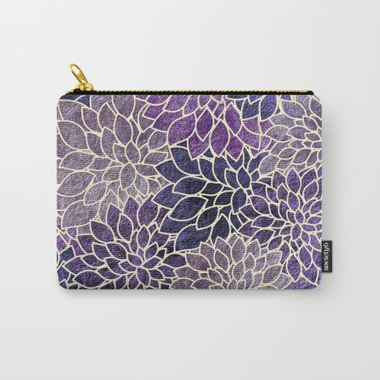 Floral Abstract 11 Carry-All Pouch