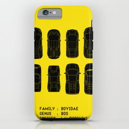 Lamborghini Family iPhone Case