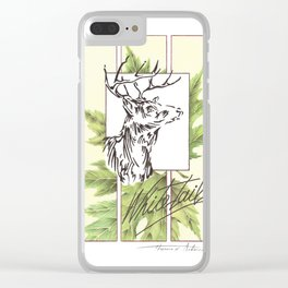 Whitetail Clear iPhone Case